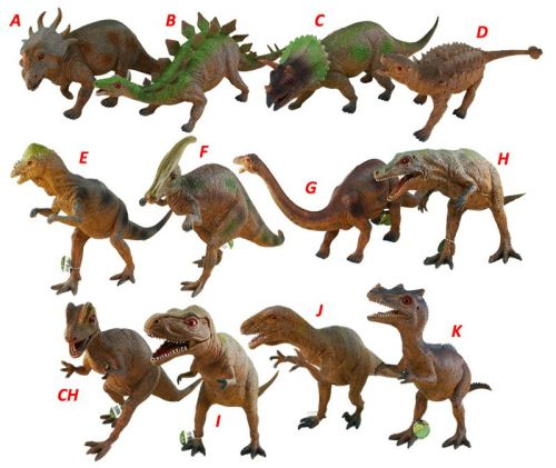 Rappa dinosaurus 45-51 cm cena od 208 Kč