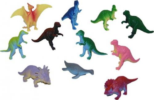 Rappa dinosauři v sáčku 10 ks cena od 64 Kč