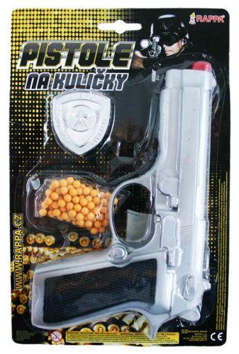 Rappa pistole na kuličky s příslušenstvím cena od 75 Kč