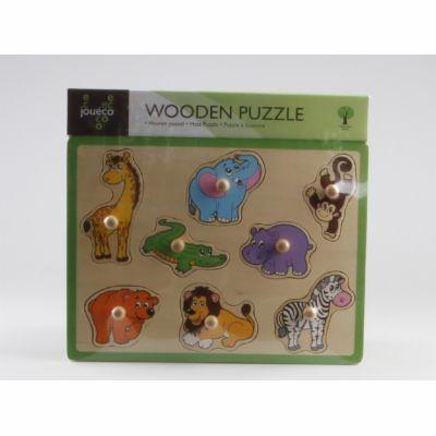 Johntoys Dřevěné puzzle 8v1 cena od 153 Kč