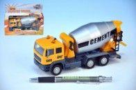 Mikro hračky Auto domíchávač 15,5 cm