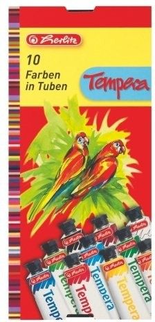 Herlitz Tempery 10 barev