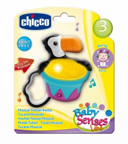 Chicco Chrastítko tukan cena od 245 Kč