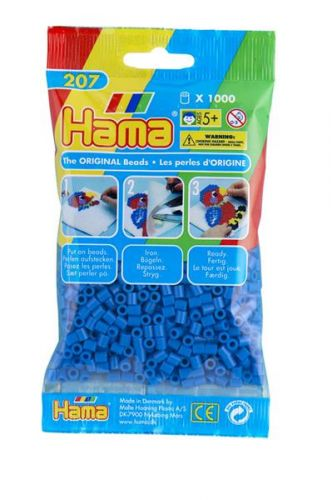HAMA Světle modré korálky cena od 45 Kč