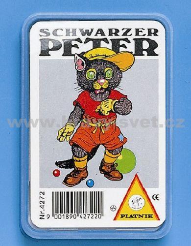 Piatnik: Černý Petr - Zvířata (plastová krabička)