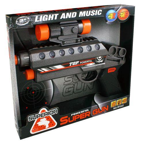 Rappa pistole se zvukem a světlem cena od 55 Kč