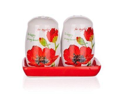 BANQUET Slánka s pepřenkou Red Poppy OK cena od 89 Kč