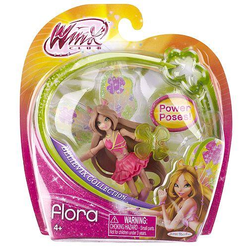 Winx Club Panenka Believix Flora