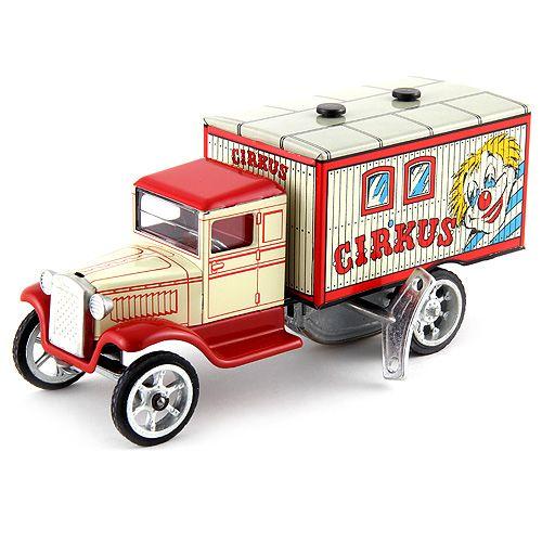 Kovap Cirkusové auto plechové