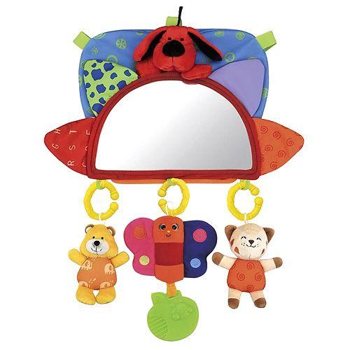 K´s Kids Návlek na opěrku se zrcátkem a závěsnými hračkami cena od 629 Kč