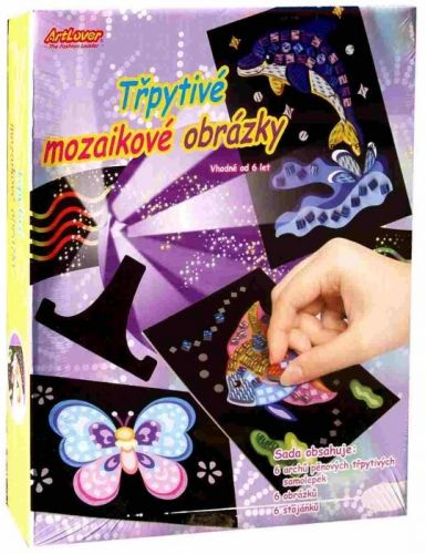 Creatoys Třpytivé mozaikové obrázky cena od 160 Kč