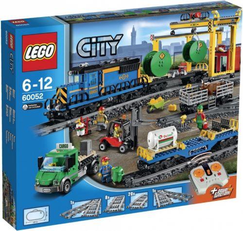 Lego City nákladní vlak 60052