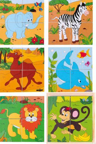 WOODY Kubus 2x2 Safari cena od 118 Kč