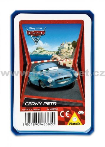 Piatnik Černý Petr Cars 2 cena od 29 Kč