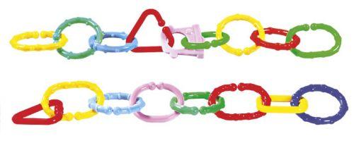 Rappa zábrana řetěz plastový 8 ks