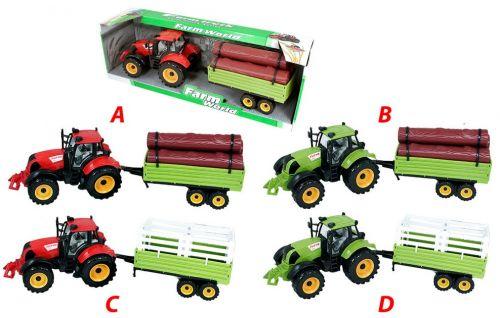 Rappa traktor s vlečkou 4 druhy cena od 218 Kč