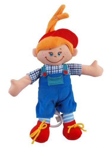 Baby Mix Panenka s hracím strojkem Chlapeček cena od 230 Kč