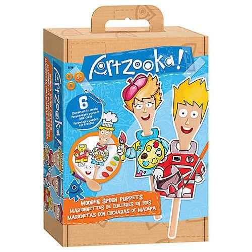 Wooky Kreativní set Artzooka výroba maňásků z vařečky cena od 99 Kč