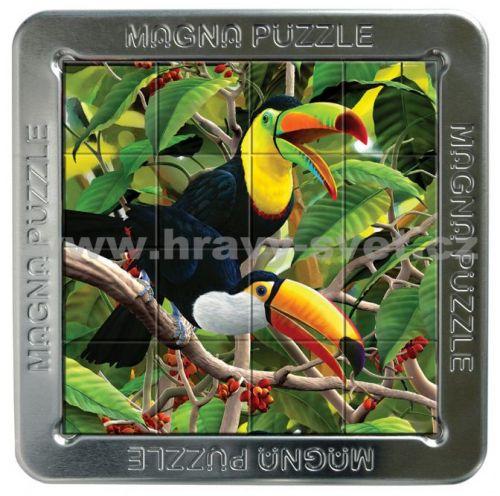Piatnik: 16 d. 3D Magnetické puzzle Tukan