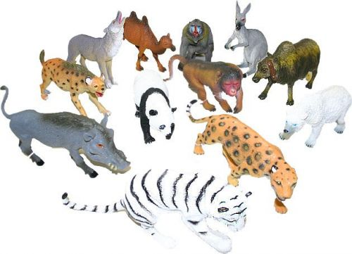 Rappa zvířata divoká 17-26 cm cena od 82 Kč