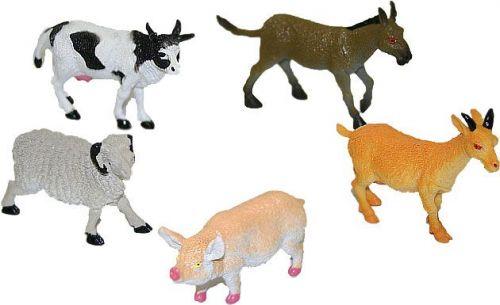 Rappa zvířata domácí v sáčku 5 ks cena od 54 Kč