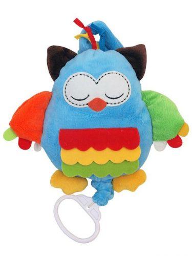 Baby Mix Plyšová hračka s hracím strojkem sova cena od 210 Kč