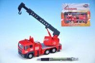 Mikro hračky Auto jeřáb kov 15 cm cena od 158 Kč