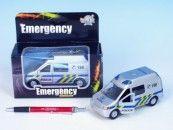 Mikro hračky Auto policie kov 14 cm cena od 165 Kč