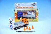 Mikro hračky Auto stavební kov 14,5 cm