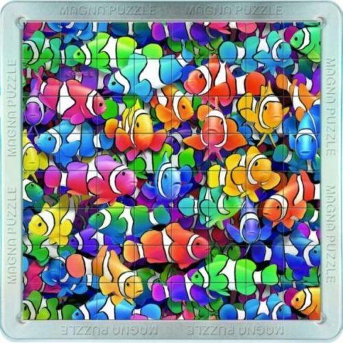 Piatnik: 64 d. 3D Magnetické puzzle Rybičky