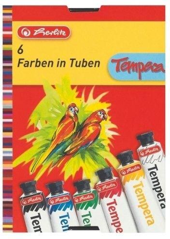 Herlitz Tempery 6 barev cena od 89 Kč
