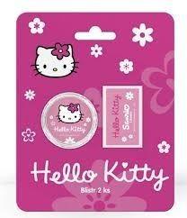 Karton P+P Guma a ořezávátko Hello Kitty