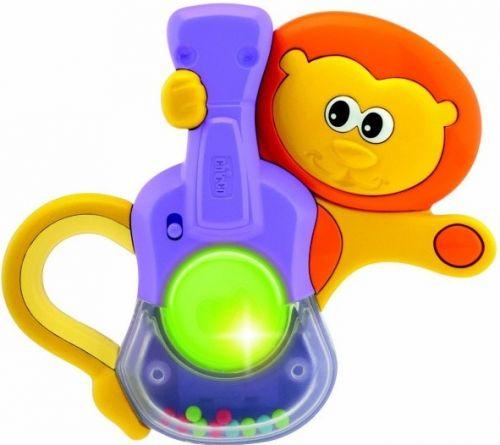 Chicco Chrastítko Lev zvuky a světlo cena od 139 Kč
