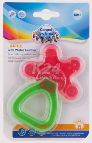 Canpol Chrastítko s chladícím kousátkem květina cena od 0 Kč