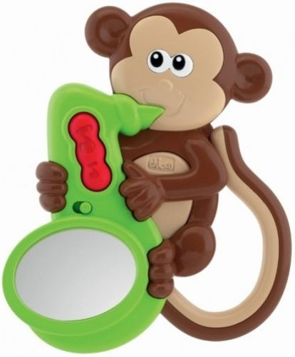 Chicco Chrastítko Opička zvuky a světlo cena od 0 Kč