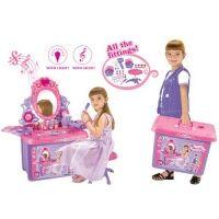 G21 kosmetický stolek se zrcadlem a zvuky v kufru