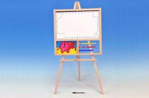 Alex Tabule školní magnetická i pro psaní na fólii s počítadlem a hodinami
