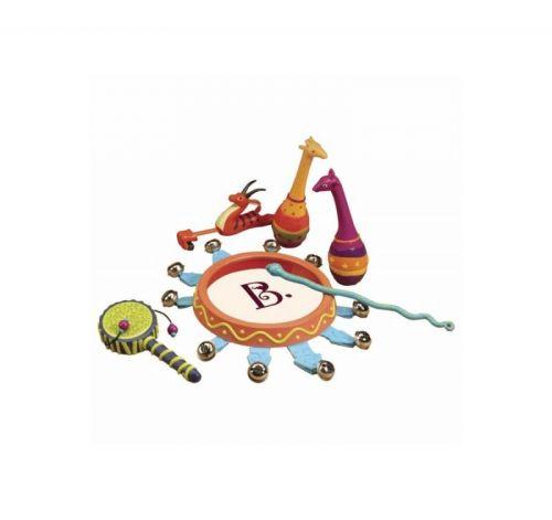 B.toys Sada hudebních nástrojů Jungle Jingles cena od 799 Kč
