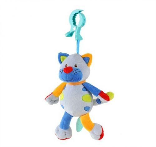 BabyONO Závěsná hračka se zvukem a vibrací Kočička cena od 0 Kč