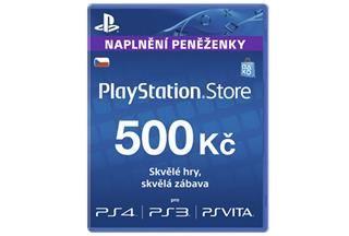 Sony PlayStation Live Cards 500 Kč