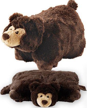 Aroma home Plyšový polštář Medvídek