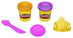 Hasbro Play-Doh Disney Princess třpytivá modelína s vytlačovátky cena od 141 Kč