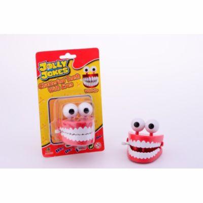 Johntoys Legrační zuby s očima cena od 0 Kč