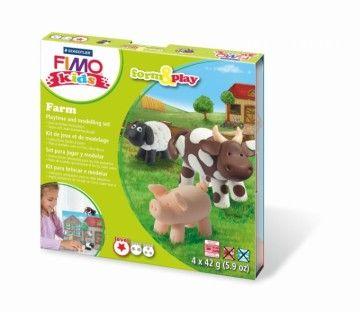 STAEDTLER FIMO kids sada Farma cena od 199 Kč