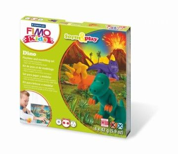 STAEDTLER FIMO kids sada Dinosauři cena od 199 Kč