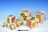Mikro Trading Pyramida kostky s obrázky zvířátek 6 ks cena od 199 Kč