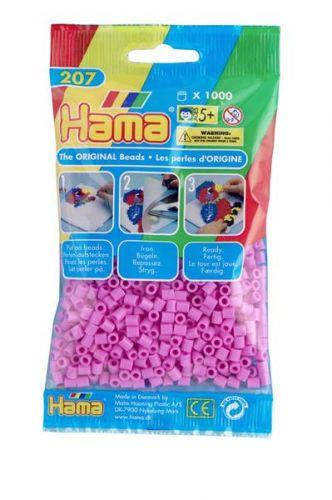 HAMA Pastelové ružové korálky cena od 45 Kč