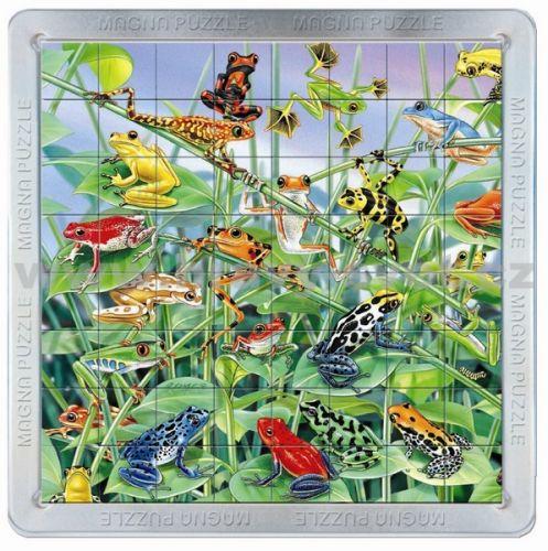 Piatnik: 64 d. 3D Magnetické puzzle Žáby cena od 139 Kč