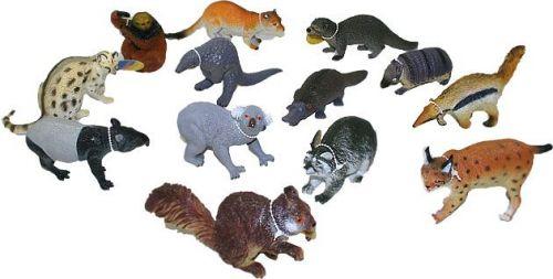 Rappa zvířata lesní 11-18 cm