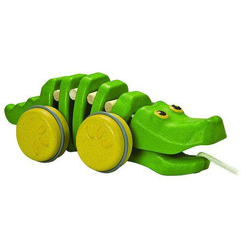 Plan Toys Tančící krokodýl cena od 399 Kč